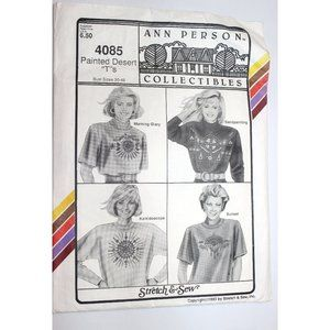 UNCUT Stretch & Sew 4085 sewing pattern pullovers